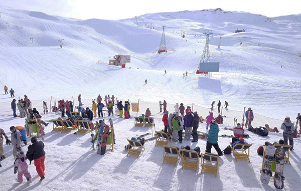 ski tour package